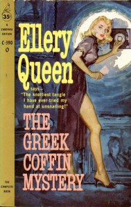 The Greek Coffin Mystery, 1960 - illus James Meese-1