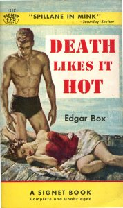 179 Edgar Box (Gore Vidal) Death Likes It Hot Signet055