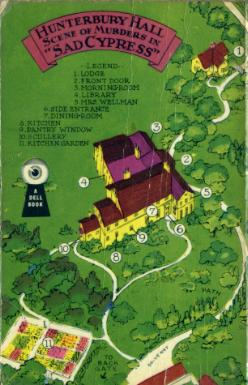 Dell #172, Sad Cypress (map back)