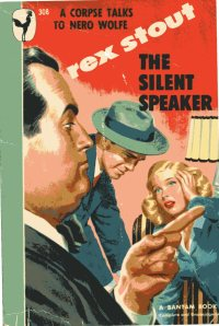 227 Rex Stout The Silent Speaker Bantam048