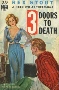 28 Rex Stout 3 Doors to Death Dell052