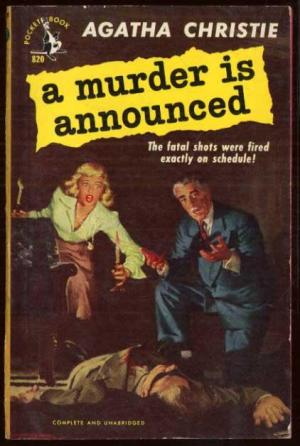 a murder is announced book cover