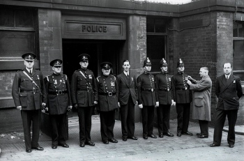 police and fire awrds 1938 in oldham cc ah mayall.