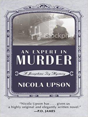 An Expert in Murder, Nicola Upson
