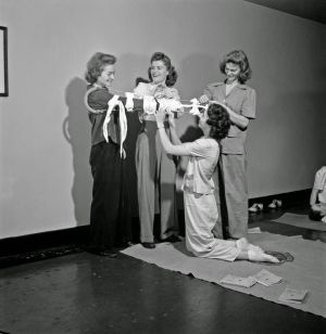 WW2 First aid course
