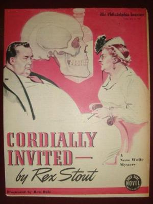 Cordially invited to meet death, Rex Stout