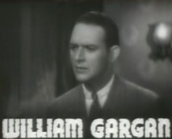 William Gargan, Alibi for Murder, 1936