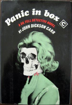 Panic in Box C, John Dickson Carr