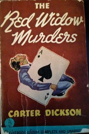 the red widow murders, carter Dickson