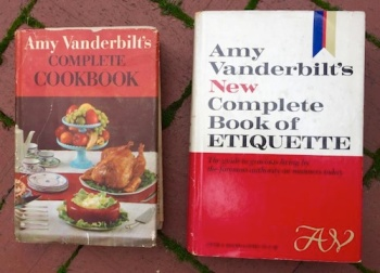 Amy Vanderbilt Cookcbooks